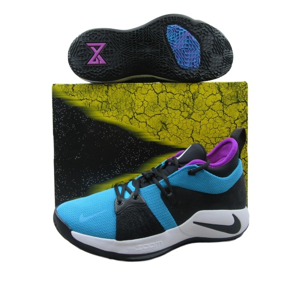 059b8245ea64 Nike PG 2 Blue Lagoon Paul George Basketball Shoes. NWT. Nike.  M 5c368f959539f7c4ea87837a. M 5c368f96035cf1ffdca97797.  M 5c368f961b3294acd54ca6fb